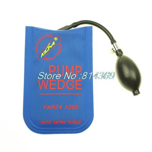 100% KLOM PUMP WEDGE Airbag 2015 New for Universal Air Wedge LOCKSMITH TOOLS Lock Pick Set.Door Lock Opener Small size(China (Mainland))