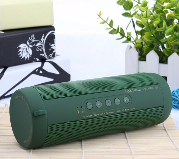 HOT Portable Wireless Bluetooth Speaker Stereo Hi-Fi Outdoor Waterproof Support SD TF card FM Radio Super Bass High Quality