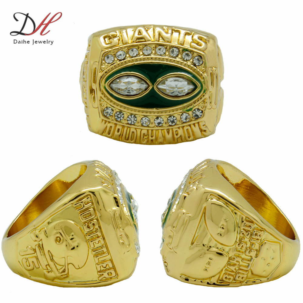 CR-20602 New 1990 York Giants Super Bowl Football Championship Ring,Custom Rings, Solid Gold Ring - Hand Make My Day store