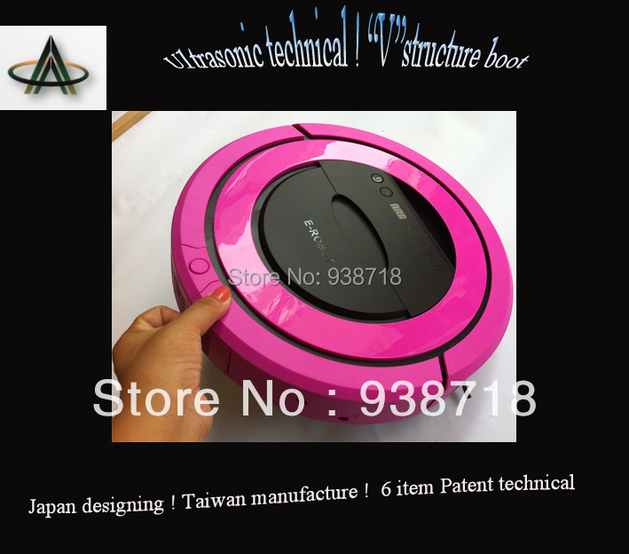 Ulrasonic  technical  Robotic vacuum cleaner from Taiwan - First selling in Japan