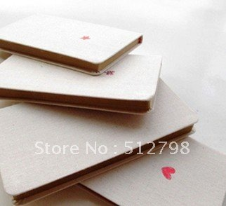 cloth cover notebook/kraft paper inner paper/ Retail and wholesaler/4 designs/ramdon delivery от Aliexpress INT