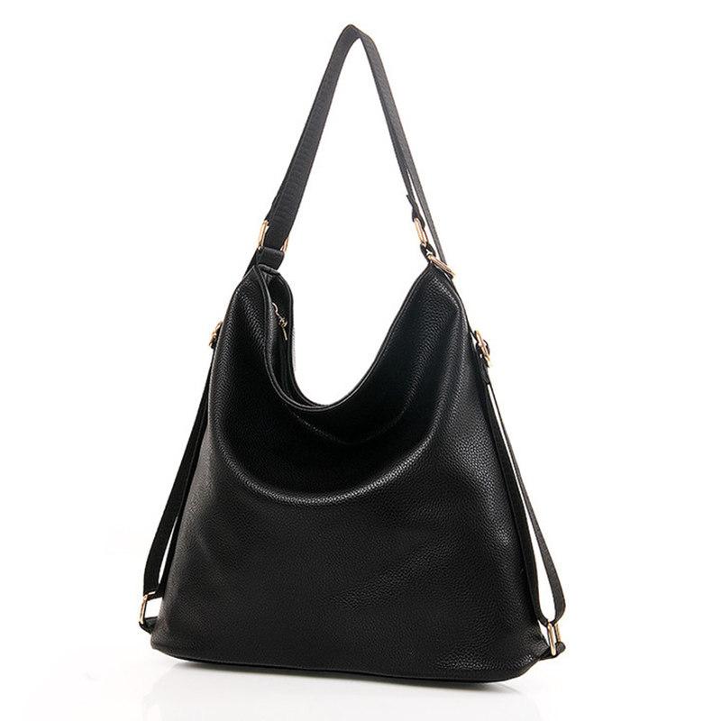 winter Women's shoulder Bags back packs ladies Messenger bag fashion handbag Back bag black leather designer school bag(China (Mainland))