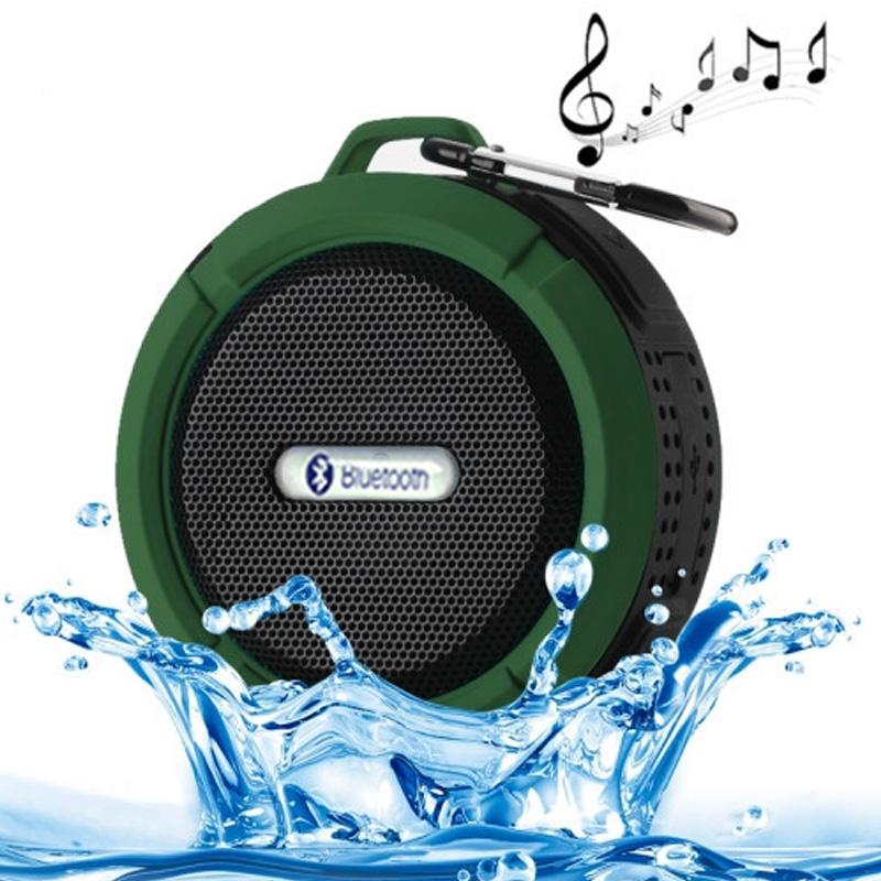Newest Bluetooth Speaker Waterproof IP65 Portable Outdoor Wireless Mini shower Loudspeakers Speakers Design for iPhone Samsung(China (Mainland))