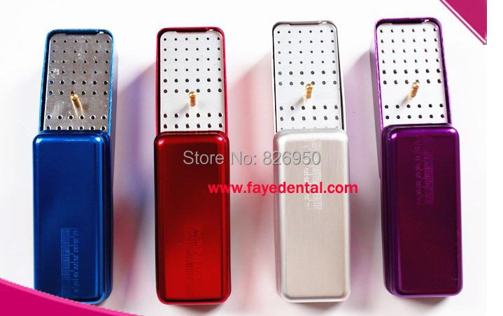 72 holes Autoclavable High Speed Dental Burs Holder polishing brush& cup Block - Online Store 826950 store