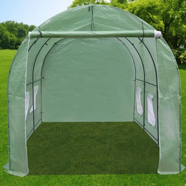 Online buy wholesale green house supplier from china green for Walk in greenhouse big lots