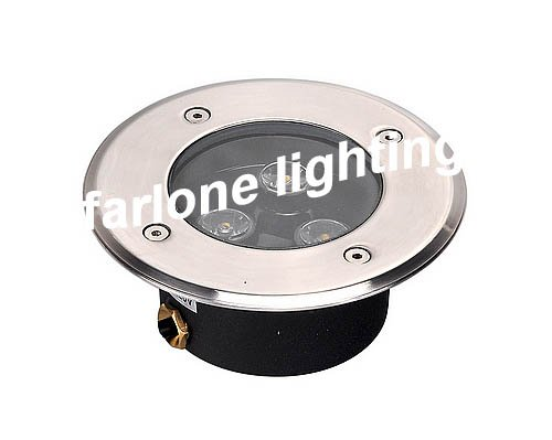 3W LED underground light IP67 Buried lighting Outdoor Lamp Light AC85-265V - GuangZhou Farlone Lighting Co, Ltd. store