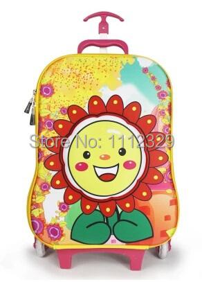 3D EVA Kids trolley bags cartoon design luggage school BAG 12 - Merry Weather Store store