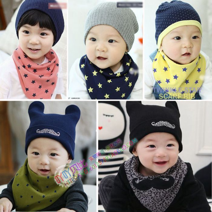 Unisex children bandana 100% cotton Thickening fashion Double sided available print Triangular bandage baby bibs Hide buttons(China (Mainland))