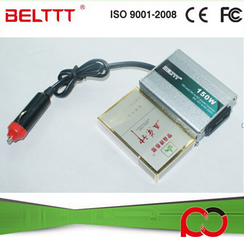 Mini Size Factory Price 150W Off Grid DC to AC Single Output Power Inverter for Car(China (Mainland))