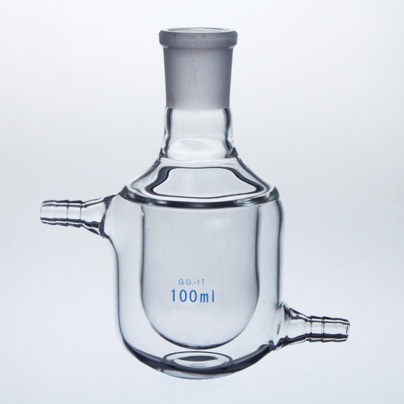 Glass beaker round