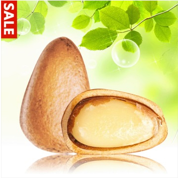 Dried fruit pine nuts pine nut first level 400g granules nut food FREE shipping