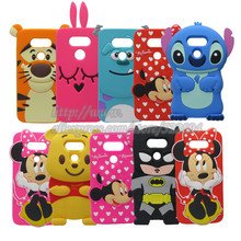 Buy 3D Cartoon Cute Minnie Batman Sulley Tiger Blue Stitch Soft Silicone Case Cover LG G5 Phone Case for $3.52 in AliExpress store
