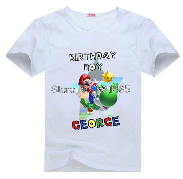 Popular birthday boy shirts buy cheap birthday boy shirts for Personalized t shirts for kids cheap