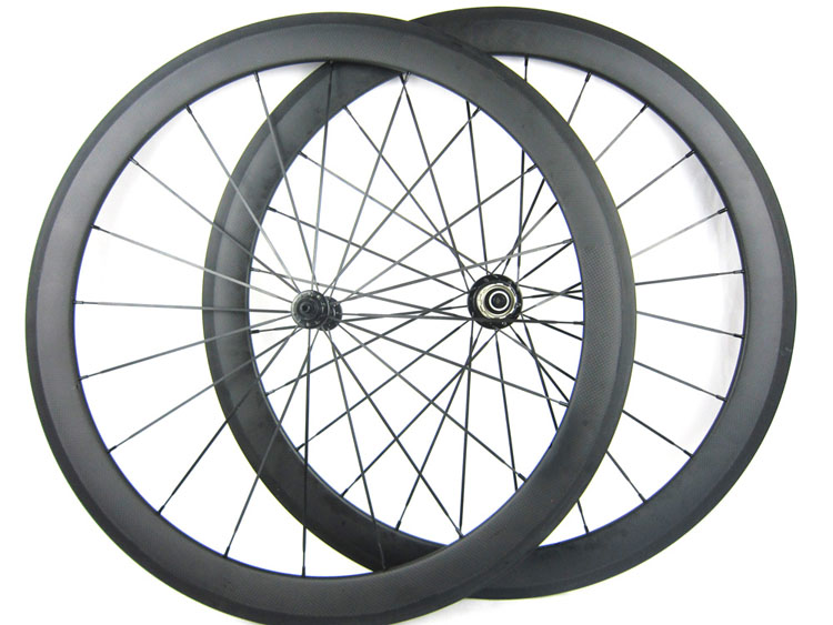 Full Carbon Road Wheelset 50mm Ceramic Bike Hub 700C 50mm Clincher Road Racing Wheels Wholesale Price(China (Mainland))