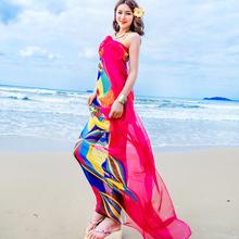 Spring and autumn chiffon silk scarf ultralarge women's long design thin sunscreen beach towel cape magicaf scarf mantillas(China (Mainland))