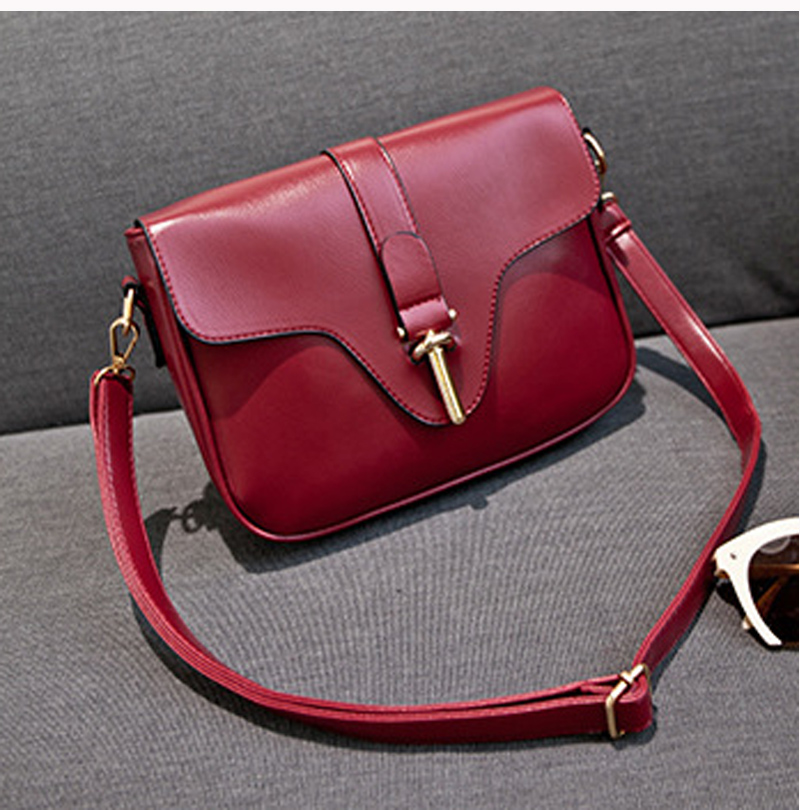Women Messenger bags Designer Handbags High Quality PU Leather Crossbody Bags Black and Navy Shoulder Bag -E(China (Mainland))