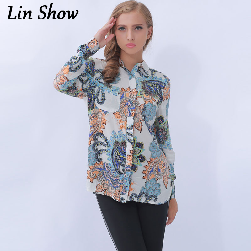 Buy vintage women 39 s shirts cotton turn for Where to buy womens button up shirts