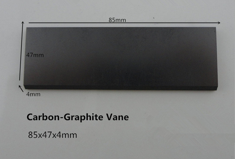 85x47x4mm Carbon-Graphite Vane  for   Rietschle Vacuum Pumps/   Vanes for Carbon-graphite end plates<br><br>Aliexpress
