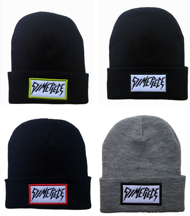 DIMEPIECE Beanies Hats Hip-Hop wool winter Cotton knitted warm caps Snapback hat for man and women 1pcs(China (Mainland))