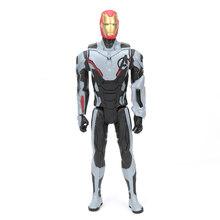 30 centímetros Brinquedos Avengers Marvel Thanos Endgame 4 Spiderman Hulk Ironman Capitão América Ação PVC Figura Modelo Estatueta Pantera Negra(China)