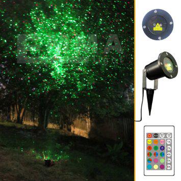 Laser d corations promotion achetez des laser d corations for Projecteur laser maison noel