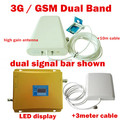Best price Newest 2G 3G LCD Signal booster GSM 900 GSM 2100 Mobile Phone Booster Amplifier