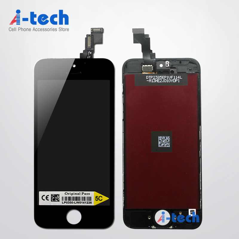 10PCS/LOT For Apple iPhone 5C iPhone 5S Screen Display Replacement LCD With Touch Digitizer Assembly Free DHL Ship