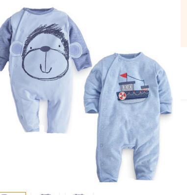 2016 new baby boys clothes leisure infant Jumpsuit cotton