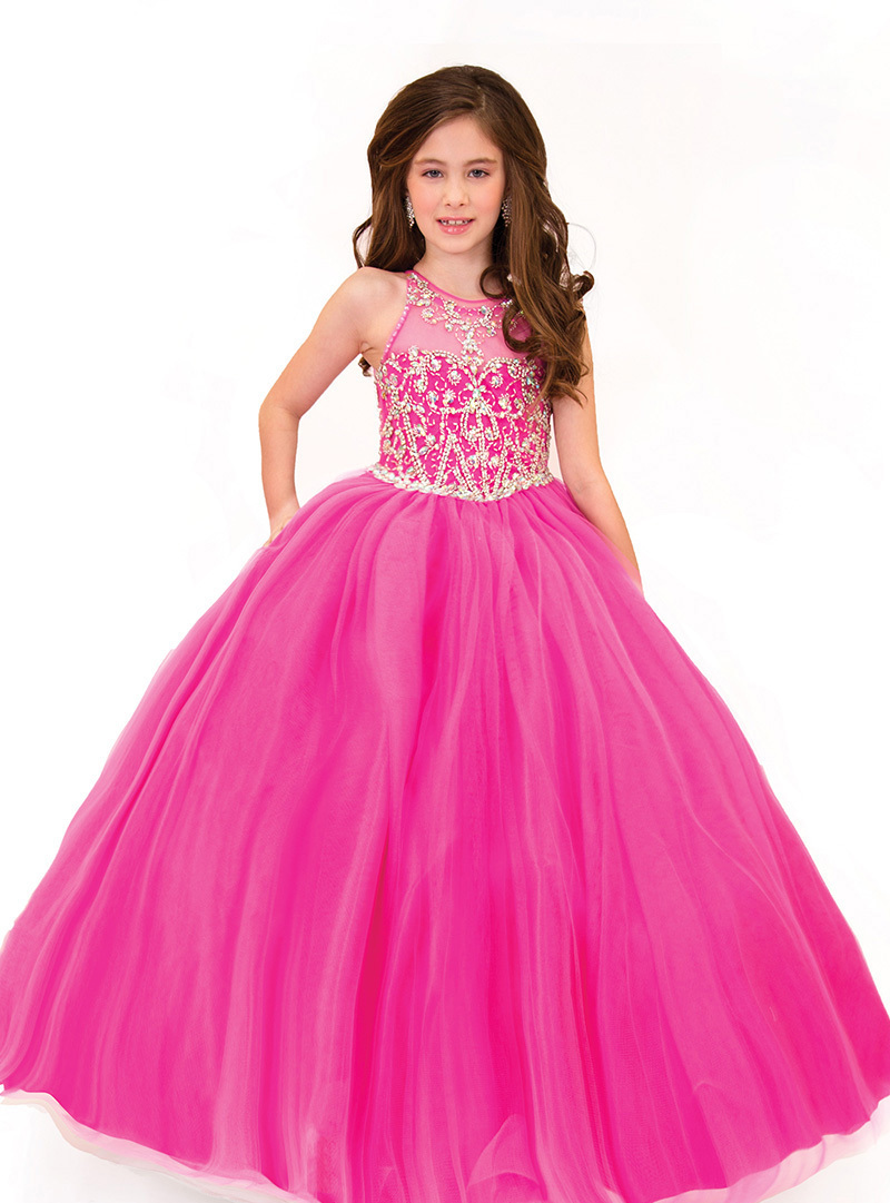 Little Girl Pink Pageant Dresses