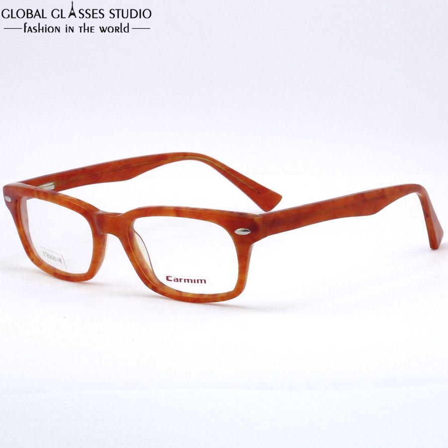 Glasses Frame Cleaner : New Fashion Women Acetate frame Demi Light Brown clean ...
