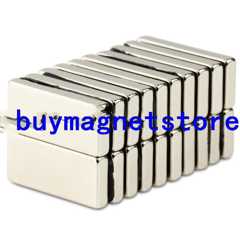 10pcs N50 Strong Block Cuboid Magnets 28mm x 12mm x 4mm Rare Earth Neodymium<br><br>Aliexpress