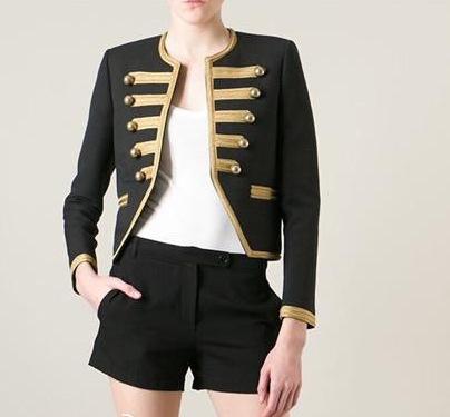 chaquetas estilo militar para mujer