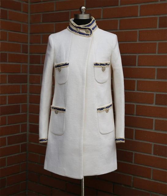 Классический хорошее качество женщины шерстяные пальто шерстяной жакет красивый outware воротник смесь куртки женщин