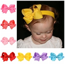 Buy 20Pcs/lot Headband Bows 10.5cm Grosgrain Ribbon Bow Elastic Headbands Hair Bands DIY Hair Accessories 608 for $9.03 in AliExpress store