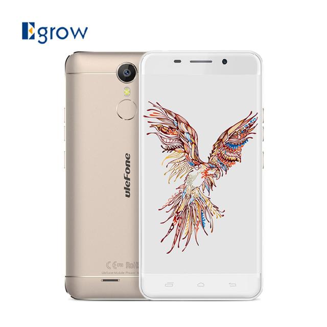 Оригинал Ulefone Меtal MTK6753 Окта основные Сотовый Телефон Android 6.0 5.0 Дюймов Мобильный Телефон 3 Г RAM 16 Г ROM 13.0MP 3050 мАч смартфон