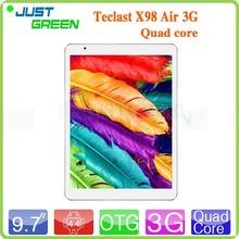 9.7″ Retina Teclast X98 Air 3G Intel Atom Z3736F Quad Core Tablet PC 2GB RAM 32GB Phone Call DHMI GPS Android 4.4 Win8 Dual OS