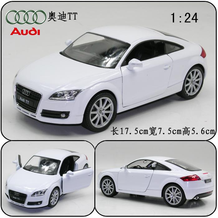 Big AUDI tt alloy car models wyly car model AUDI sports car model(China (Mainland))