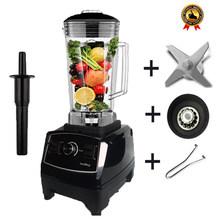 BPA livre 2200 W Heavy Duty Commercial Blender Misturador Liquidificador Processador de Alimentos Profissional Japão Lâmina Espremedor de Gelo Máquina Do Smoothie(China)