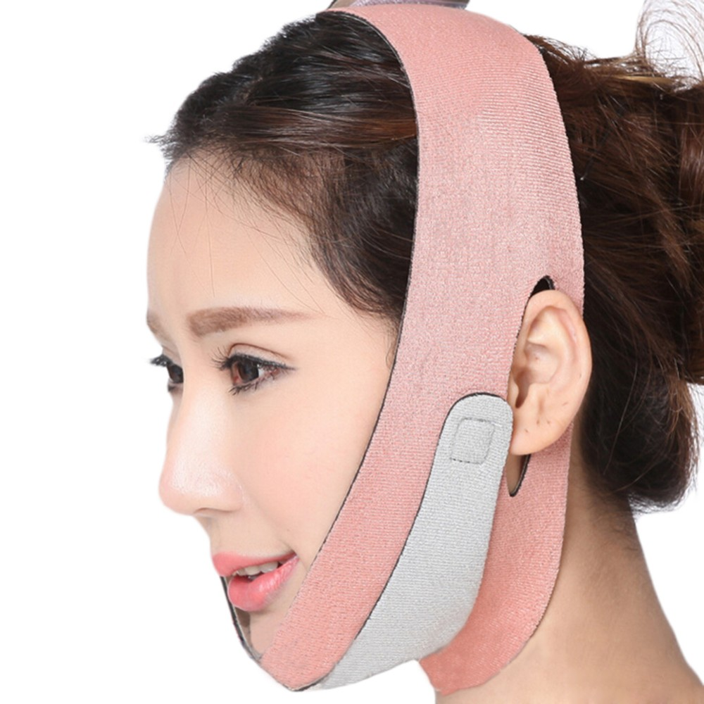 Face Lift Up Belt Health Care Thin Face mask Slimming Facial Shaper Masseter Relaxation Bandage Belt Massage Reduce Double Chin