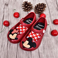 2016 children bow sandals boys Girls waterproof shoes baby pvc soft outsole kids flats jelly shoes