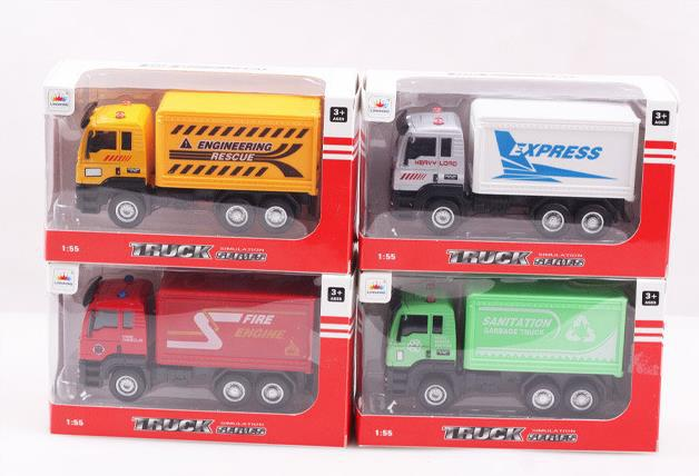 Super Cool Truck Toys Pull Back Model Car For Boys Truck Alloy Toy Gift for Children Free Shipping(China (Mainland))