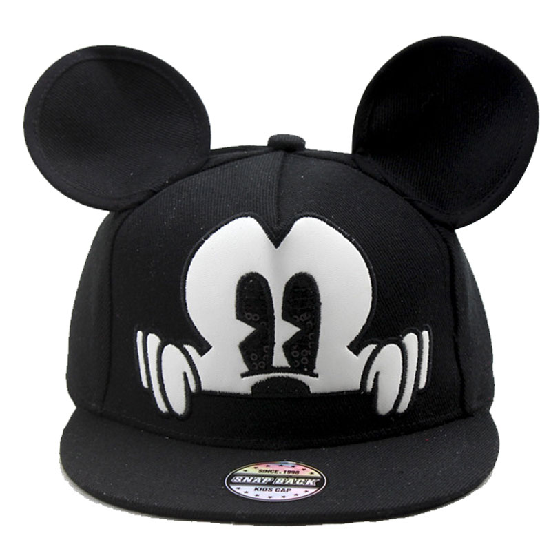 2016 Bone Baseball Cap Child Cartoon Mickey Casquette Snapback Gorras Planas Hip Hop Polo Hat Gravity Falls For Boys and Girls(China (Mainland))