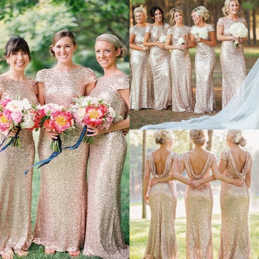 Compare peach bridesmaid dresses compare and buy the low price gold mermaid bridesmaid dress peachivorypinkchampagneredsilveryellow cheap long sequined bridesmaid dresses fast shipping ombrellifo Images
