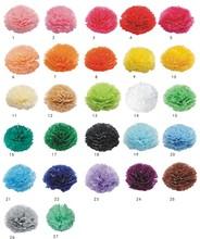 "Hot selling 12""(30 cm) Wedding Decorative Props Tissue Paper Pompoms Pom Poms Balls Wedding Party Home Decor(China (Mainland))"