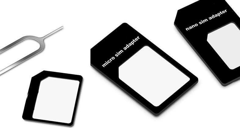 Wholesale price 4 in 1 multi-function Nano Sim Card Adapters + Micro Sim + Stander Sim Card SIM Card & Tools With Retail Box