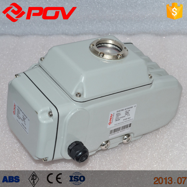 POE-05Z 50NM Portable mini 24v 4-20ma electric actuator