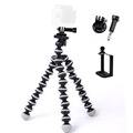 fosoto Medium Flexible Digital Camera Tripod Stand Gorillapod Monopod Tripod with gopro adapter for Gopro hero