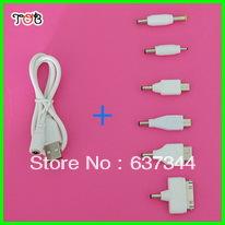 6 1 USB Charging Cables Iphone4/4s, Micro-usb, Mini-usb,Mini Adapter, Samsung, PSB Connector - Xiamen Tob New Energy Technology Co., Ltd. store
