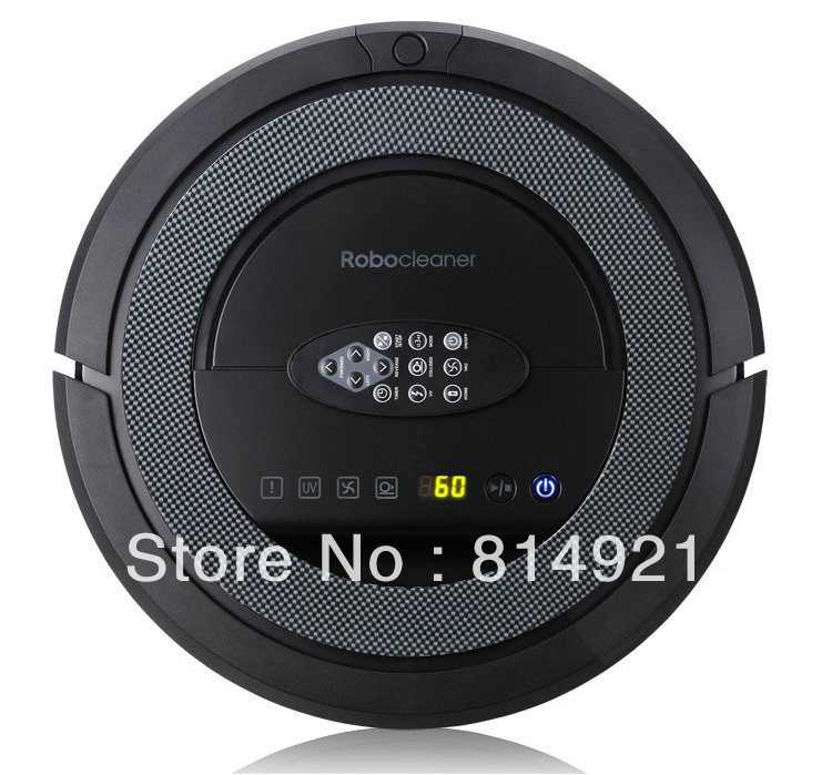 robot stofzuiger,TOP-Grade Multifunctional 5 In1 Robotic vacuum cleaner ,non touch chargebase , patent Sonic wall,UVSterilize(China (Mainland))