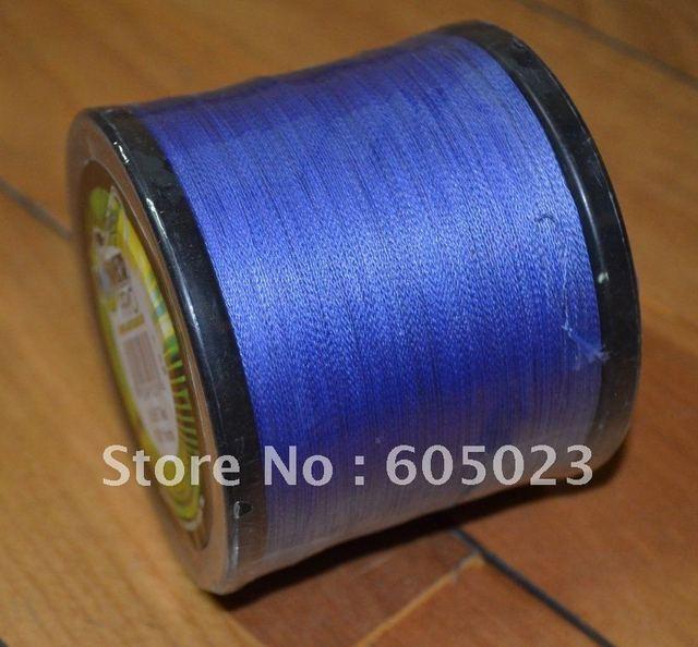 NEW 1pcs  1500YD 65LB BLUE Color 100% Spectra PE Braid fishing line